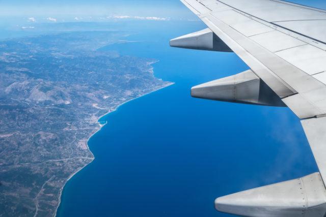 Вылет группы из Москвы в Токио (рейс авиакомпании Aeroflot)